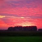 Jahreszeit-Sonnenuntergang