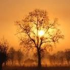 Jahreszeit-Winterabend
